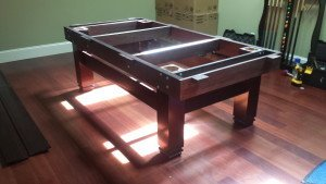 Correctly performing pool table installations, Panama City Florida